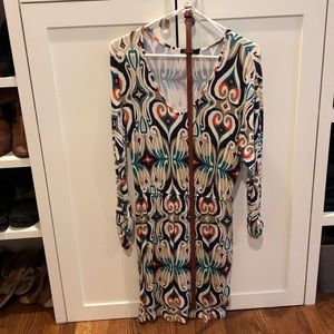 Multi colored Dress with belt by tarte